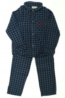 vêtements occasion enfants Pyjama à carreaux Cyrillus 4 ans Cyrillus