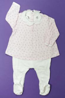 Habits pour bébé Pyjama/Dors-bien en coton Petit Bateau 9 mois Petit Bateau