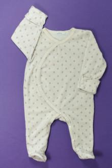 Habit de bébé d'occasion Pyjama/Dors-bien fleuri en velours Bout'Chou 3 mois Bout'Chou