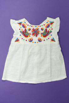 vêtements occasion enfants Blouse brodée DPAM 6 ans DPAM
