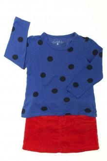 vêtements occasion enfants Ensemble jupe et tee-shirt CFK 3 ans CFK