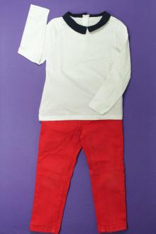 vêtements d occasion enfants Ensemble jean et tee-shirt CFK 3 ans CFK