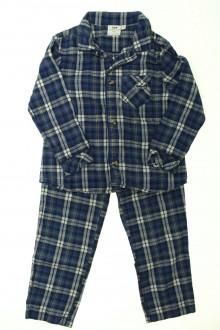 vetements d occasion enfant Pyjama à carreaux Cyrillus 4 ans  Cyrillus