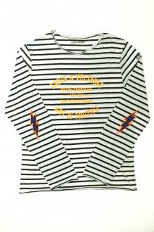 vêtement enfant occasion Tee-shirt manches longues rayé Zadig et Voltaire 12 ans Zadig et Voltaire