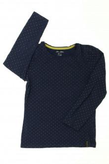 vetement d'occasion Tee-shirt manches longues à pois DPAM 6 ans DPAM