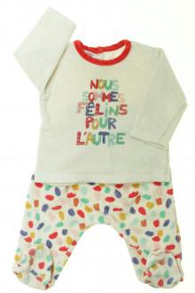 Habit de bébé d'occasion Pyjama en velours