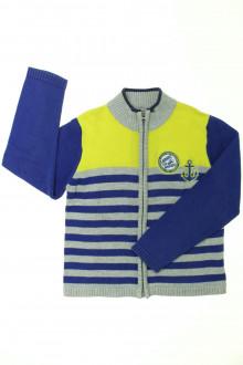 vêtements occasion enfants Gilet zippé DPAM 4 ans DPAM