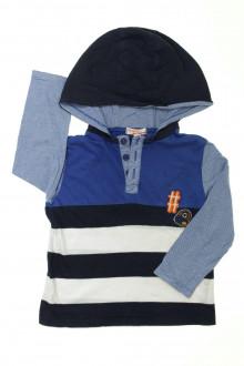 vêtements d occasion enfants Polo manches longues à capuche DPAM 3 ans DPAM