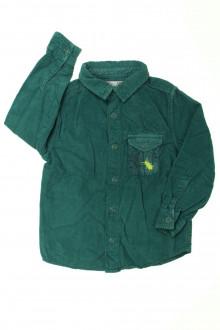 vetement occasion enfants Chemise en velours fin DPAM 3 ans DPAM