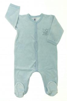 vêtements bébés Pyjama/Dors-bien en velours milleraies Petit Bateau 12 mois Petit Bateau