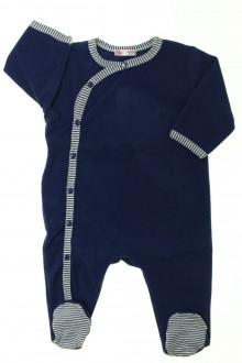 Habits pour bébé Pyjama/Dors-bien en polaire DPAM 6 mois DPAM