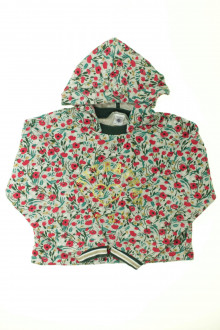 vêtements occasion enfants Sweat court fleuri Petit Bateau 10 ans Petit Bateau