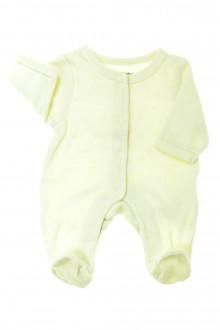 Habit d'occasion pour bébé Pyjama/Dors-bien en velours prématuré Vertbaudet Naissance Vertbaudet