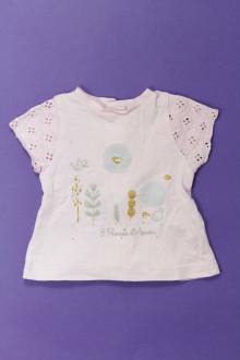 habits bébé occasion Tee-shirt manches courtes 3 Pommes 3 mois 3 Pommes