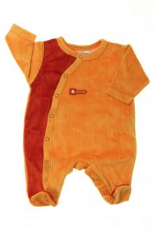 vetement bébé d occasion Pyjama/Dors-bien en velours Sucre d'Orge Naissance Sucre d'Orge