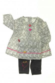 Habits pour bébé Ensemble blouse et legging Orchestra 1 mois Orchestra