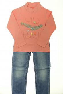 vetement occasion enfants Ensemble jean et tee-shirt La Compagnie des Petits 5 ans La Compagnie des Petits