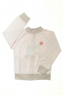 vêtements occasion enfants Sweat zippé La Compagnie des Petits 5 ans La Compagnie des Petits