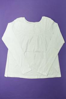 vetement enfants occasion Tee-shirt manches longues brodé Okaïdi 12 ans Okaïdi