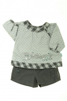 habits bébé Ensemble blouse et short Sergent Major 1 mois Sergent Major