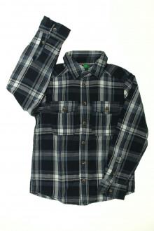 vetements enfants d occasion Chemise à carreaux Benetton 7 ans Benetton