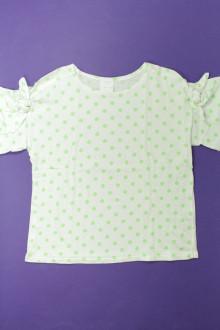 vetement occasion enfants Tee-shirt manches courtes à pois Zara 10 ans Zara