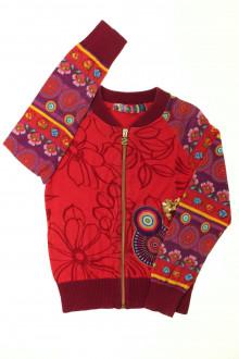 vêtements d occasion enfants Gilet zippé Desigual 8 ans Desigual