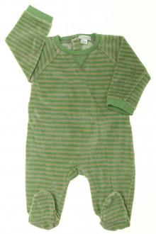vêtements bébés Pyjama/Dors-bien en velours rayé Vertbaudet 6 mois Vertbaudet