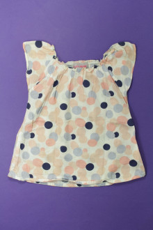 vetements enfants d occasion Blouse à pois Lisa Rose 4 ans Lisa Rose