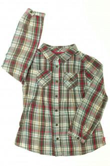 vêtements enfants occasion Chemise à carreaux Okaïdi 4 ans Okaïdi