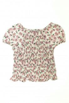 vêtements occasion enfants Blouse fleurie Zara 9 ans Zara