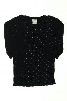 vetement occasion enfants Tee-shirt manches courtes à pois Zara 9 ans Zara