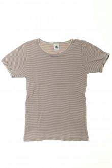 vetements enfants d occasion Tee-shirt manches courtes milleraies Petit Bateau 10 ans Petit Bateau