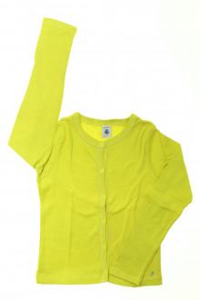 vêtements enfants occasion Tee-shirt manches longues à pressions Petit Bateau 8 ans Petit Bateau