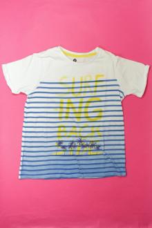 vêtements d occasion enfants Tee-shirt manches courtes rayé Z 10 ans Z