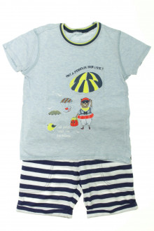 vetement occasion enfants Ensemble tee-shirt et short Sergent Major 5 ans Sergent Major