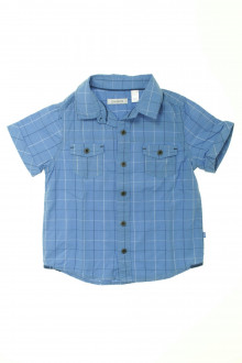 vêtement enfant occasion Chemisette à carreaux Okaïdi 3 ans Okaïdi