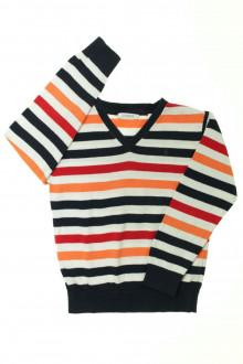 vêtements occasion enfants Pull rayé Okaïdi 5 ans Okaïdi
