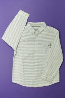 vetement occasion enfants Chemise à fines rayures Okaïdi 4 ans Okaïdi