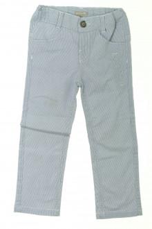 vetement d'occasion Pantalon à fines rayures Grain de Blé 3 ans Grain de Blé