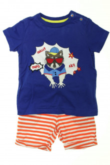 vetement occasion enfants Ensemble short et tee-shirt Sergent Major 4 ans Sergent Major