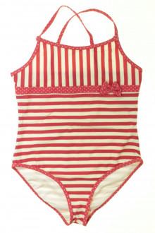 vêtements enfants occasion Maillot de bain rayé Cyrillus 12 ans Cyrillus