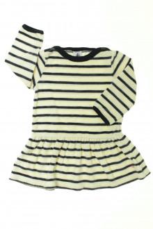 vêtements bébés Robe en velours Petit Bateau 12 mois Petit Bateau