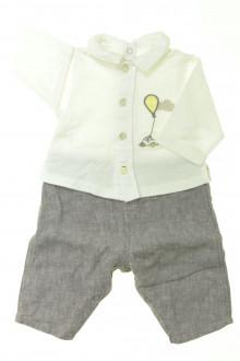 vetement bébé d occasion Combinaison Marèse 1 mois Marèse