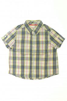 vêtements occasion enfants Chemisette à carreaux Cyrillus 4 ans Cyrillus