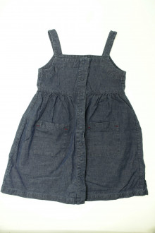 vêtements occasion enfants Robe en jean Cyrillus 8 ans Cyrillus