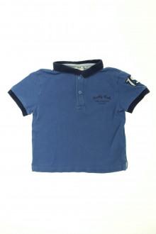 vêtement enfant occasion Polo manches courtes Cyrillus 4 ans Cyrillus
