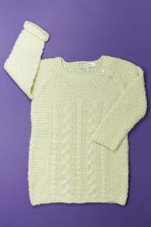 vêtements occasion enfants Robe en maille torsadée Zara 3 ans Zara