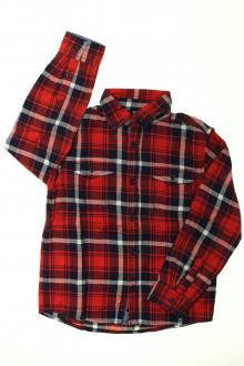 vetement occasion enfants Chemise à carreaux Monoprix 8 ans Monoprix