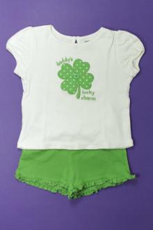 vetements enfants d occasion Ensemble tee-shirt et short Gymboree 2 ans Gymboree